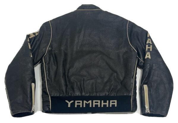 Yamaha Motorcycle Black Leather Jacket