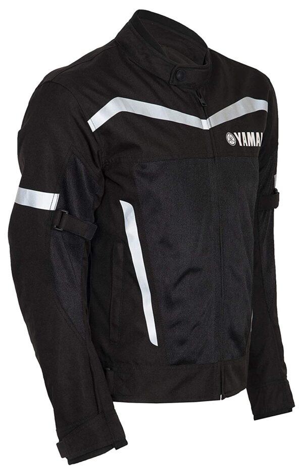 Yamaha Motorcycle Black Racing Textile Jacket