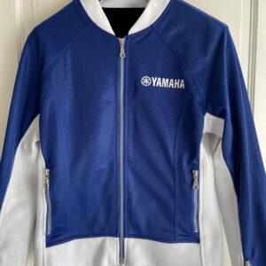 Yamaha Motorcycle Blue And White Textile Jacket