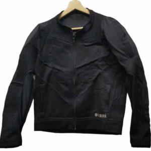Yamaha Motorcycle Racing Black Textile Jacket