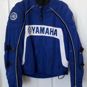 Yamaha Motorcycle Racing Blue Textile Jacket