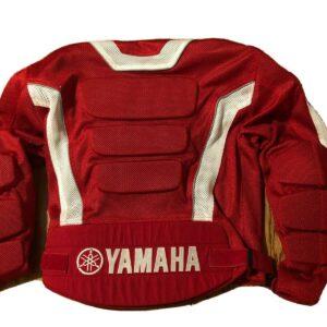 Yamaha Motorcycle Red And White Textile Jacket