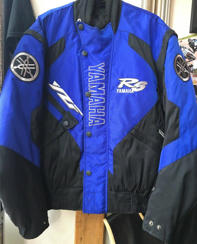 Yamaha R6 Motorcycle Blue And Black Textile Jacket