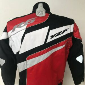 Yamaha R6 Motorcycle Red And Black Textile Jacket