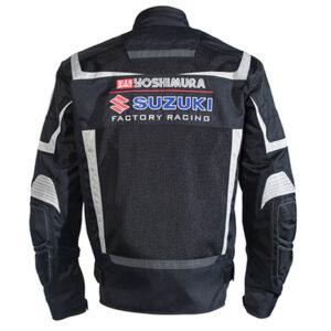 Yoshimura Suzuki Motorcycle Racing Mesh Jacket