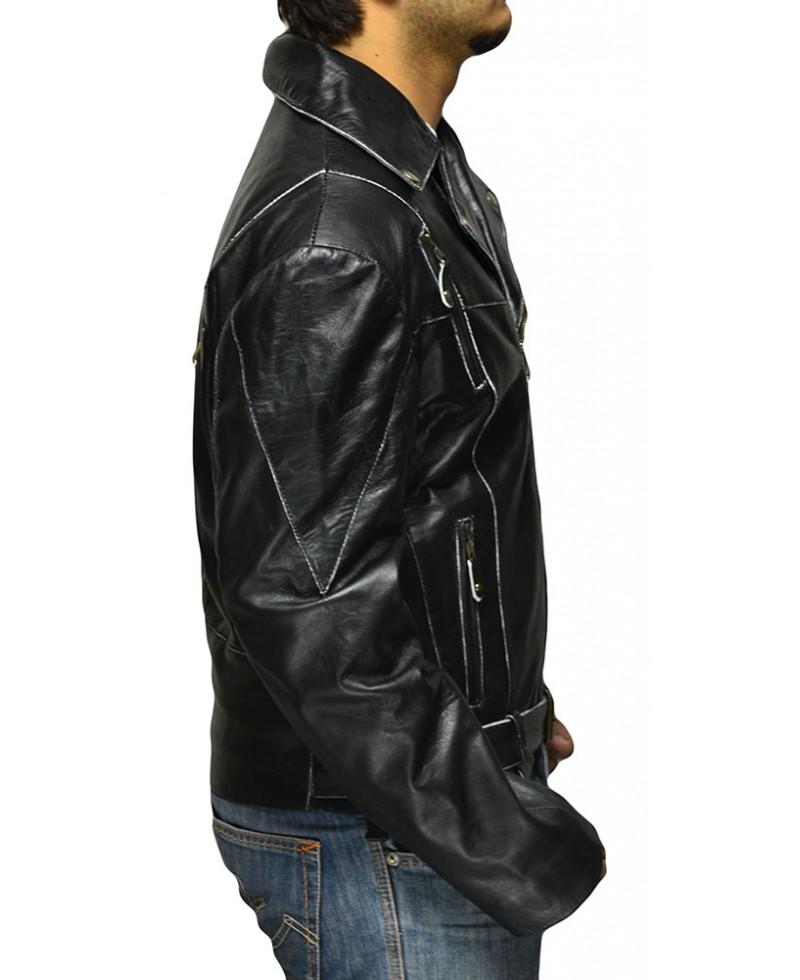 Vintage Black Biker Jacket Jackets Maker