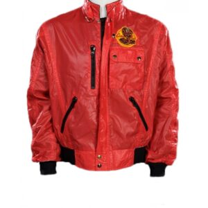 Cobra Kai Windbreaker Red Jacket
