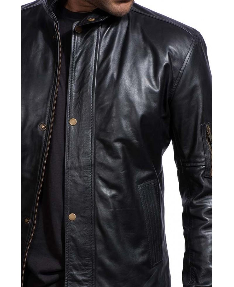 House leather jacket