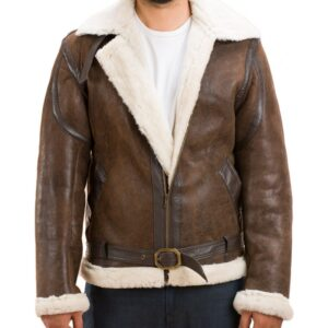 Snow and Stone Shearling Jacket