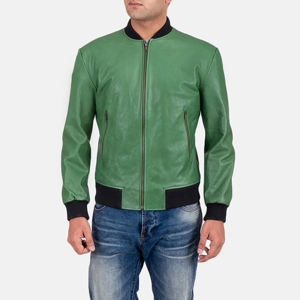 66b4d67cf Shane Green Bomber Jacket