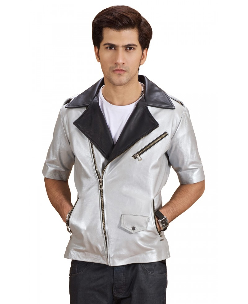Mens leather jacket shop