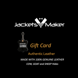 Jackets Maker Gift card blank