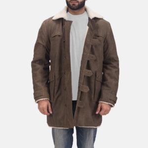 Storm Nite Brown Shearling Coat