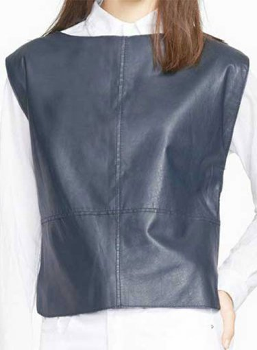 Blouson Leather Top Style # 1609