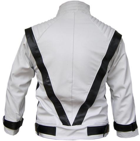 White Men S Leather Jacket Jackets Maker