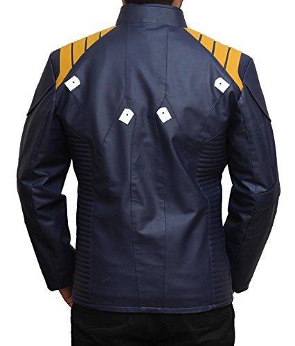 Blue Star Trek Beyond Chris Pine Caption Kirk Jacket