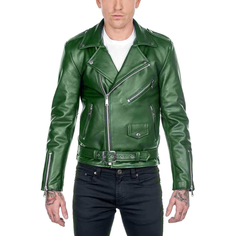 Men's Leather Jacket Colors