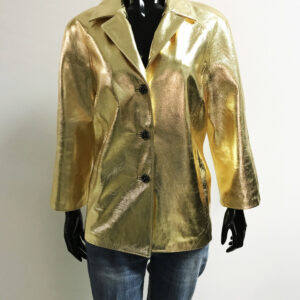 Blazer Metallic Gold Jacket