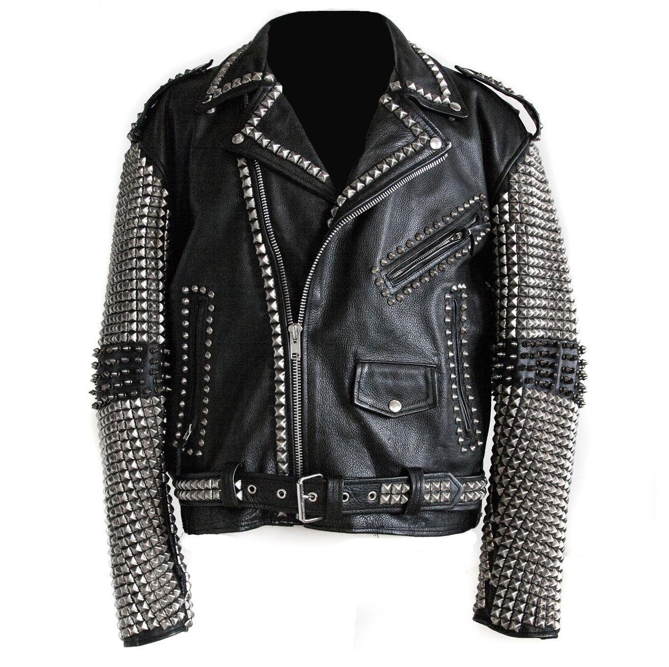 Punk Rocker jacket Rock punk Men - Jackets Maker