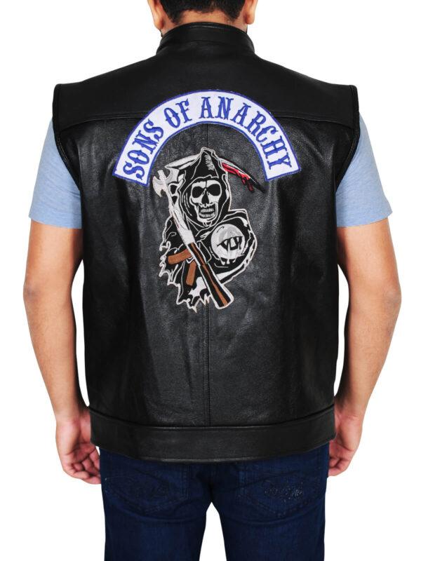 Charlie Hunnam Sons Of Anarchy Jax Teller Vest
