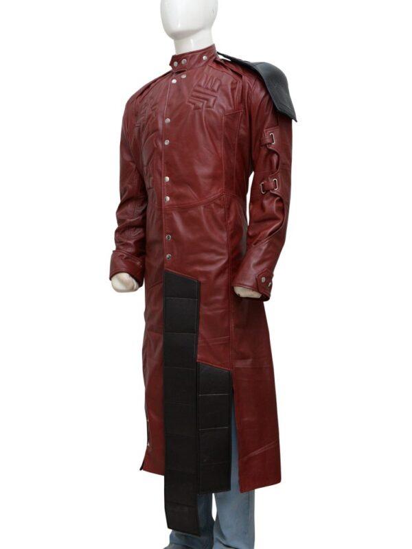 Guardian of the Galaxy Chris Pratt Maroon Coat