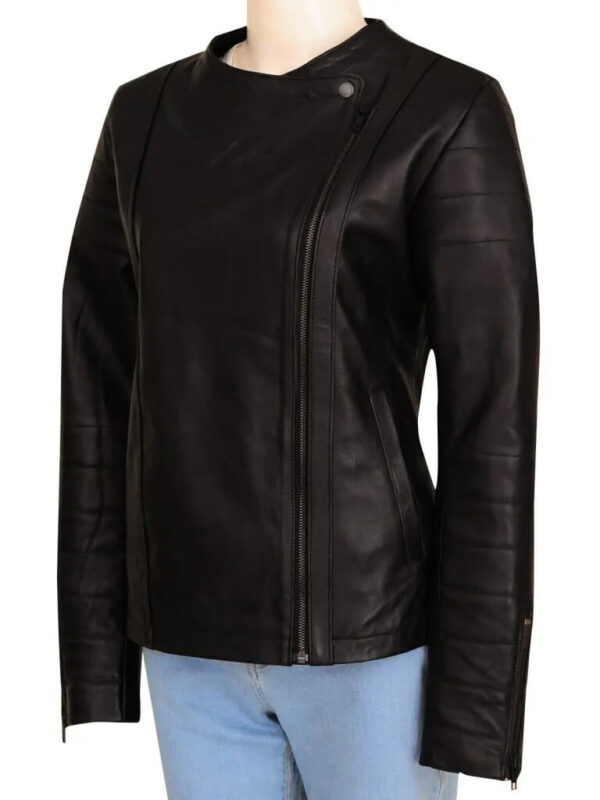 Jenna Coleman Doctor Who Series Leather Jacket