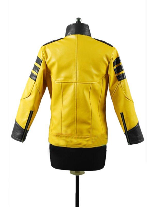 Meisa Kuroki Space Battleship Yamato Leather Jacket