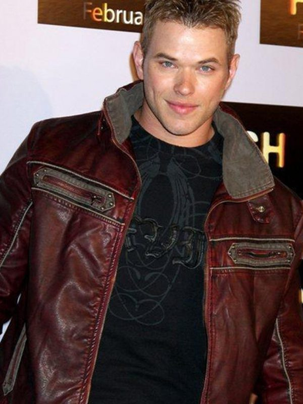 Movie Push Stylish Premiere Kellan Lutz Jacket