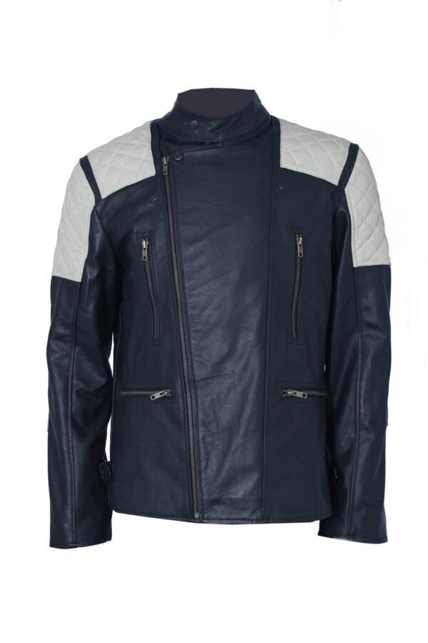 Men's Vintage Leather Jacket For Bikers