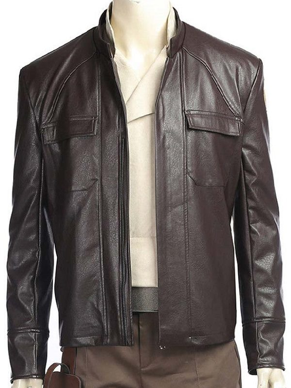 Oscar Isaac The Last Jedi Leather Jacket