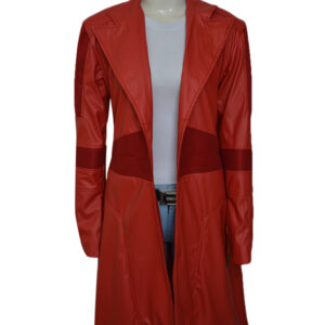 Scarlet Witch Captain America Cosplay Coat