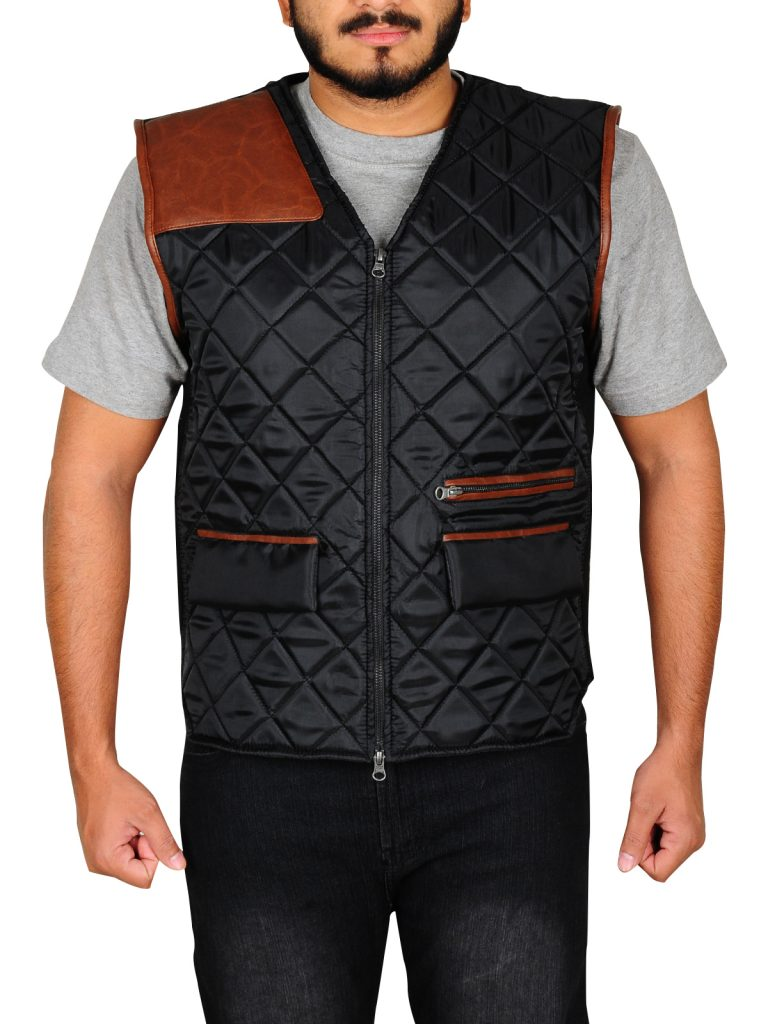 f2ba1f297 THE WALKING DEAD GOVERNOR LEATHER VEST