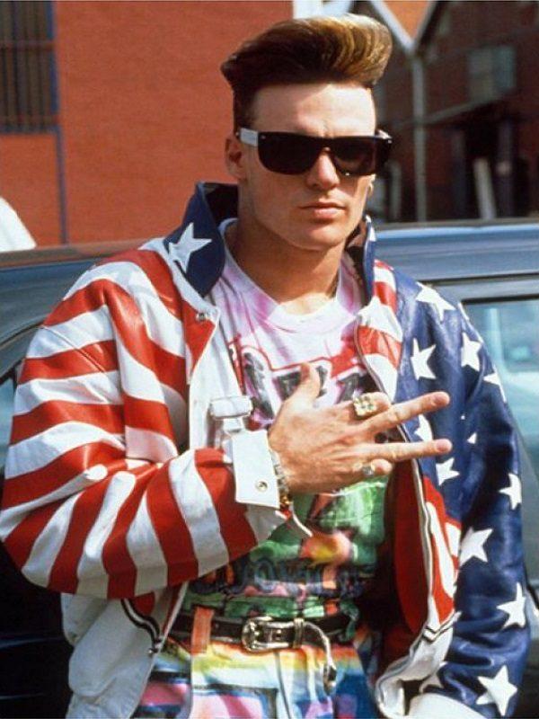 Vanilla Ice American Flag JacketVanilla Ice American Flag Jacket