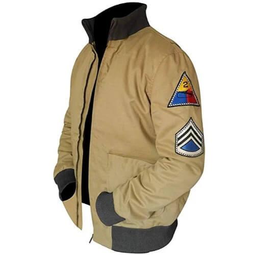 Brad Pitt Men's Fury WW2 Bomber Jacket