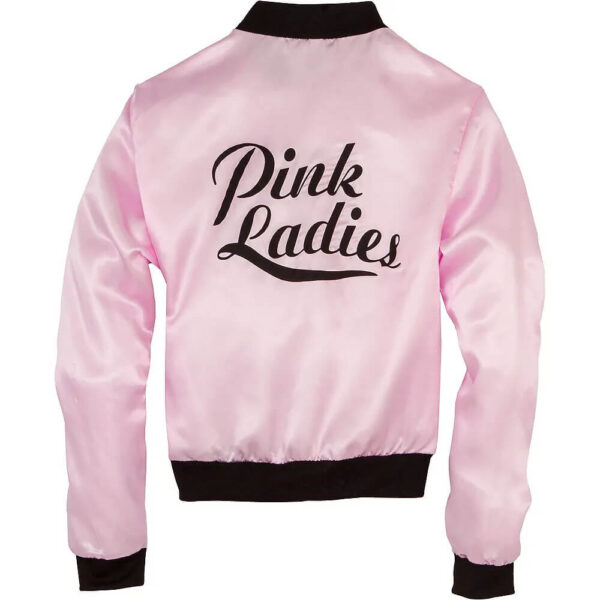 Olivia Newton John Pink Ladies Grease Satin Jacket