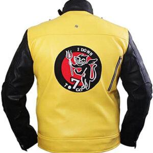 B J Blazkowicz Wolfenstein 2 Leather Jacket