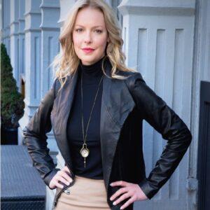 Doubt TV Series Katherine Heigl Leather Jacket