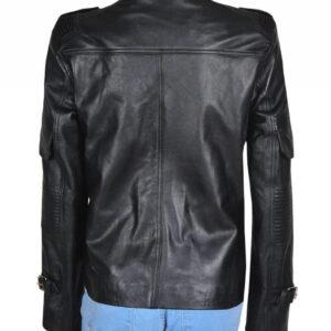 Helen Magnus Sanctuary Black Leather Jacket
