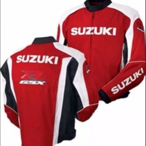 Suzuki Red Oem Gsxr Mesh Jacket Suzuki Gsxr Red Biker Jacket