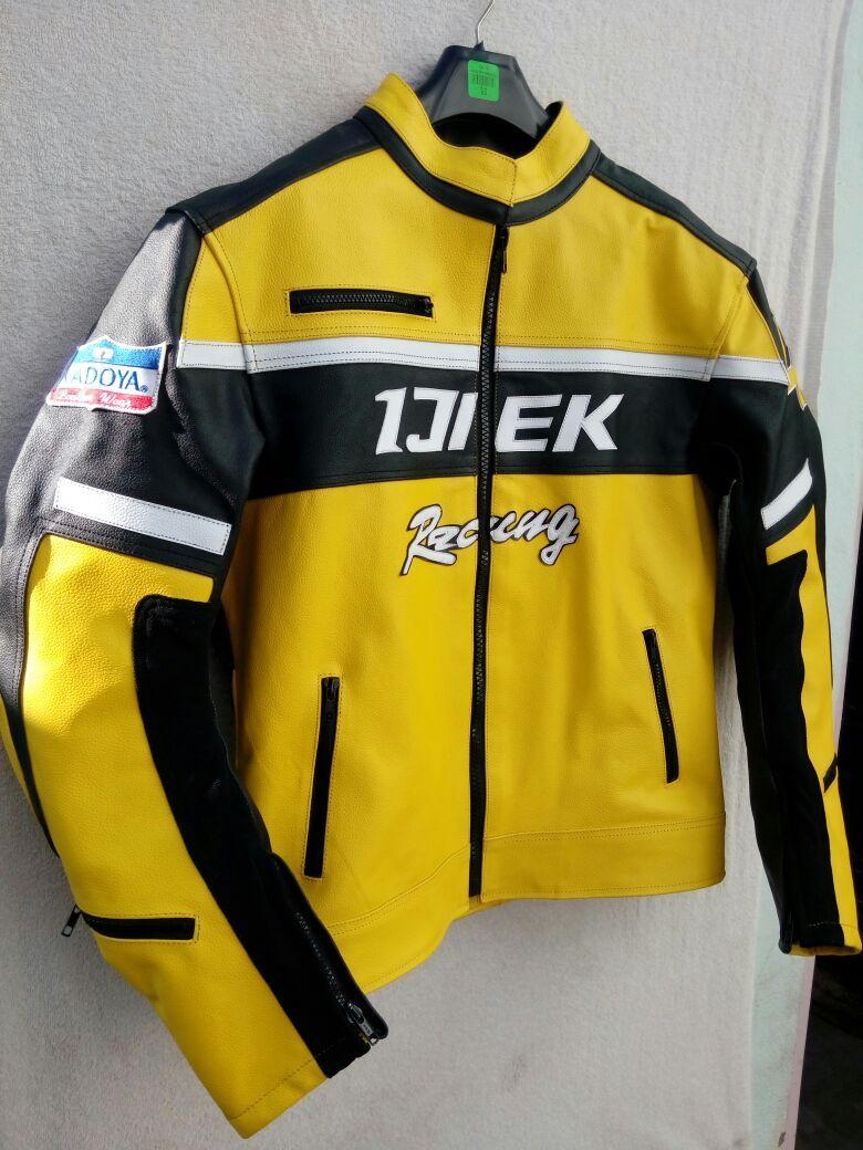 Handmade Men Chuck Greene Dead Rising Leather Jacket Jackets Maker