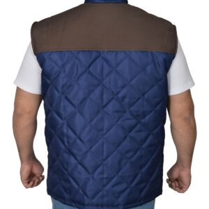 Alex Roe The 5th Wave Diamond Quilted Vest