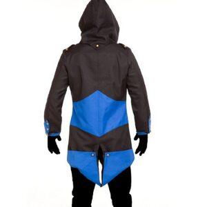 Assassins Creed III Black and Blue Jacket