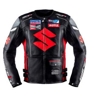 suzuki-black-motorcycle-racing-leather-jacket