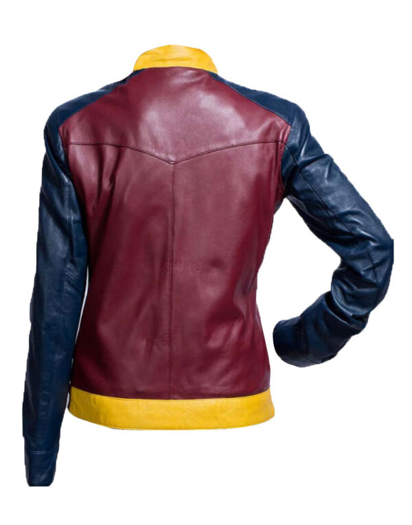 Wonder Woman Diana of Themyscira Leather Jacket