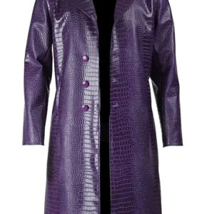 Suicide Squad The Joker Jared Leto Leather Coat