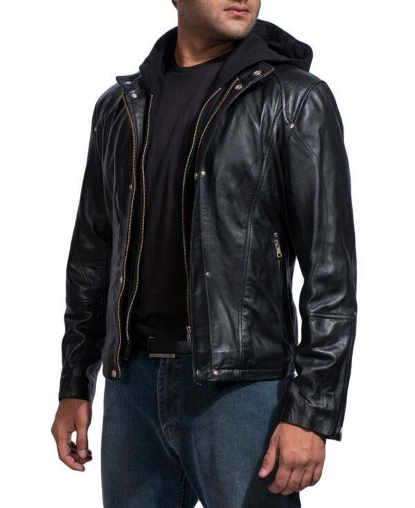 Paul Walker Brick Mansions Leather Jacket