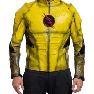 Reverse Flash Eobard Thawne Leather Jacket