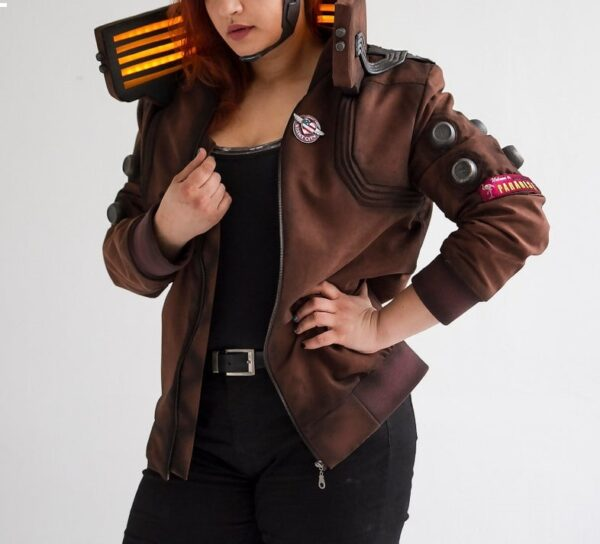 Women's Cyberpunk 2077 Inspired Cosplay Jacket