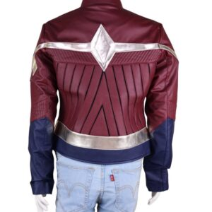 Wonder Women Diana Prince Leather Jacket