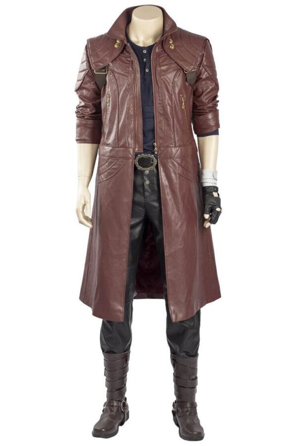 Dante DMC5 Aged Devil May Cry V Leather coat